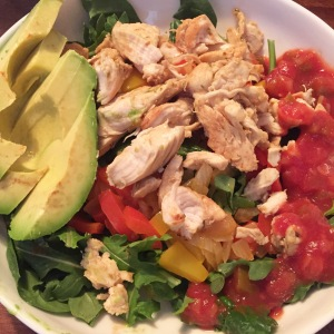 Chicken Fijita Salad